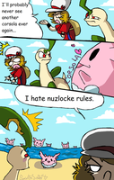 HG Nuzlocke : 168 by SaintsSister47