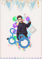 [ Graphic #2 ] Colorful Life - Daniel !! by SaeStoos153