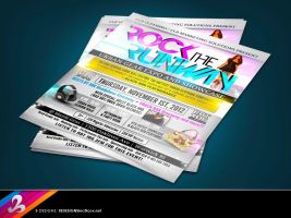 Rock The Runway Event Flyer by AnotherBcreation