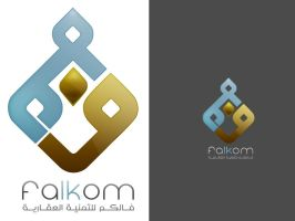 Falkom logo by fudexdesign
