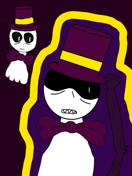 Spook the Ghost by TheMagnificentBoxMan