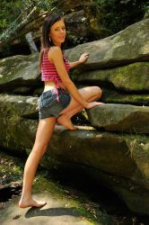 Shay - rock climber 1 by wildplaces