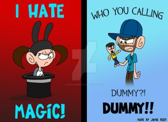 Magic is for Dummies by Peskyplumber64