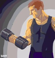 Dumbbell for Draw Something by zachjacobs