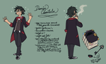 Second Draft - Damien Reference by ClefdeSoll