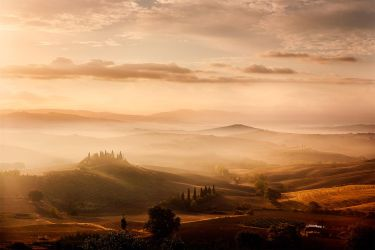 Val d'Orcia Tuscany Sunrise by MarcoRibbe-de