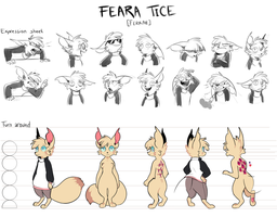 Feara - Character Sheet by pollovy