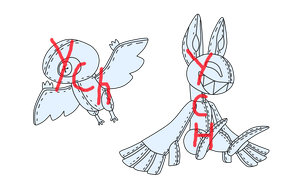 BF And SF Chibi Plush YCH!(CLOSED,SORRY!) by Topaz-The-CrossCat73