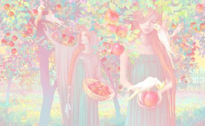 apple tree by pandemers