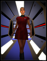 ReBoot Uniform Uhura 01 by mylochka