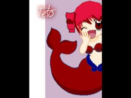 Teto The Little Mermaid by Vocaloidmiki711