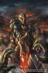 Dark Souls Comic: Issue 1 Retailer Variant Cover by Wolfie-chama