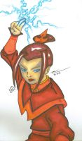Princess of the Fire Nation by PDInk