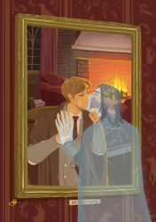 The werewolf portrait and his ghost lover by ZiLingLiew