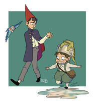 Over the Garden Wall by AskPrincesMultifruit