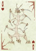 Fool of the World 8 of Hearts by EJSCreations