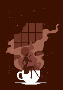 Chocolate Girl by Coolgraphic