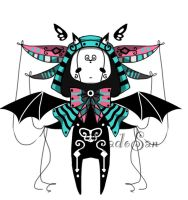 Monster pet doll adoptable Closed by AS-Adoptables