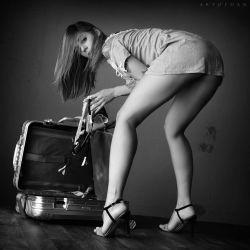 Women Suitcase by ArtofdanPhotography