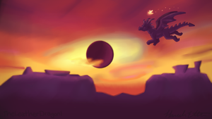 Into The Sunset by TheLeatherDragonI