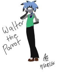 Walter the Parrot by DaniTheDealer