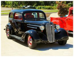 A 1936 Chevy 2 Door Sedan by TheMan268