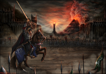Battle of the Black Gate by Sidonie