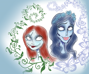 Sally and Emily by Lily-pily