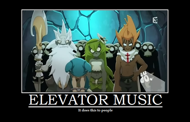 Elevator Music - Wakfu Demotivational by AncientKyuubi