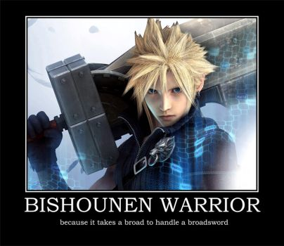 Bishounen Warrior by NickieBlack