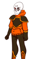 [Ref] Underfusion Papyrus: Pepper by evillovebunny500