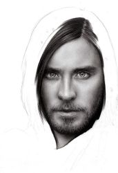 Jared Leto WIP 2 by D17rulez