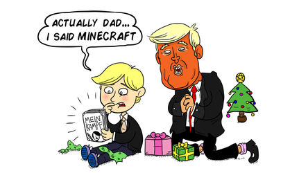 Merry Christmas from Donald Trump by munchai