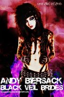 Andy Biersack by EVFanKayda1020