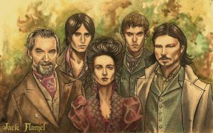 Penny Dreadful Group 001 by aquiles-soir
