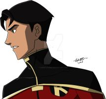 Young Justice: Jason Todd/Robin Profile Final by AgentXtremis