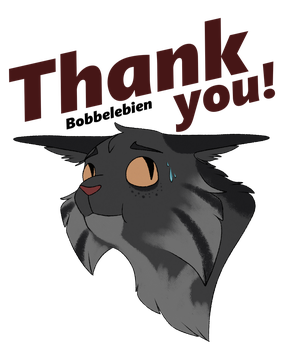 A very uncomfortable cat wants to thank you by Bobbelebien