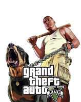 GTA V - Dog Character .png file by Speetix
