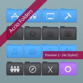 Accio Folders Preview 2 by bowlandspoon