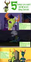 5 Things You Didn't Know About: Thorax by Rated-R-PonyStar