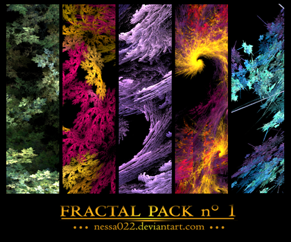 Fractal Pack n'1 by nessa022