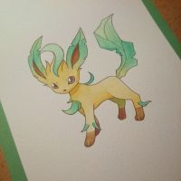 Leafeon by Josilix