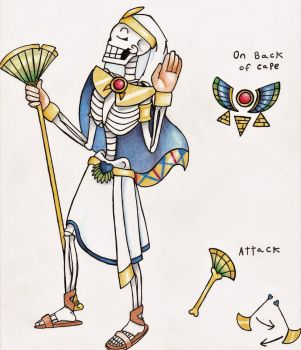 Egyptian Papyrus by JazzHands-UwUr