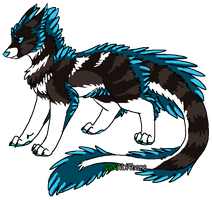 Unnamed Feathertail by HiroGoldstone