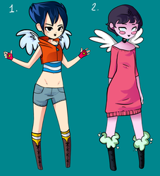 Richie and Marget Adoptables (CLOSED) by VexyFate