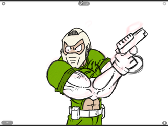 DooM frame one by Phycosmiley