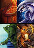 Pokemon ACEOs