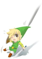 Link and DS pen by SERAPHLEI