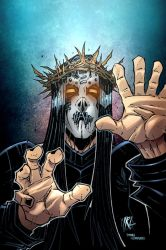 Joey Jordison by irlgzz color by Dany-Morales