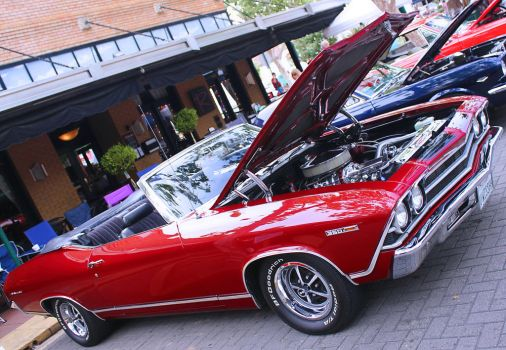 Topless Chevelle by StallionDesigns